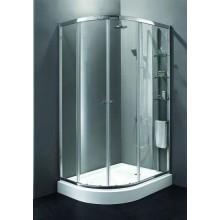 Душевой уголок Cezares Anima RH2 (120x100) (правый) текстурное стекло